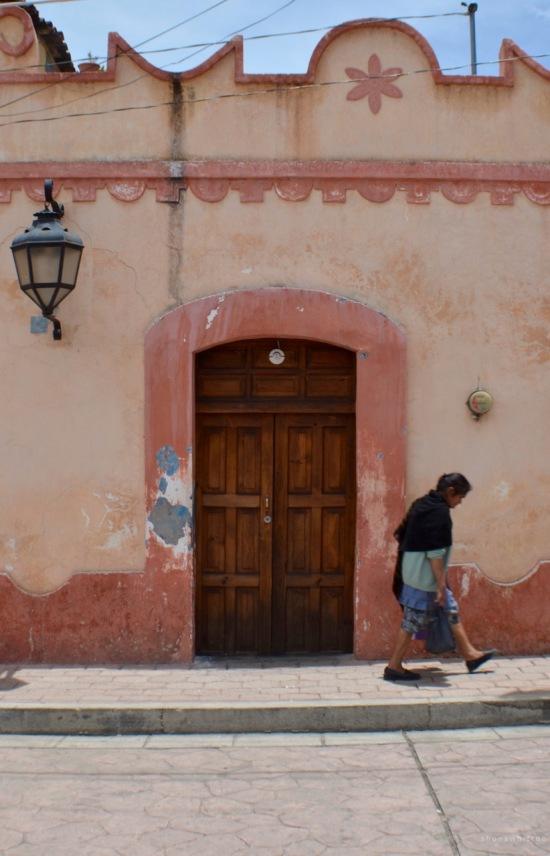 Street view. San Cristobal de Las Casas.