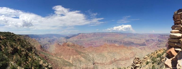 Canyon panaroma, South Rim, Grand Canyon, Arizona.