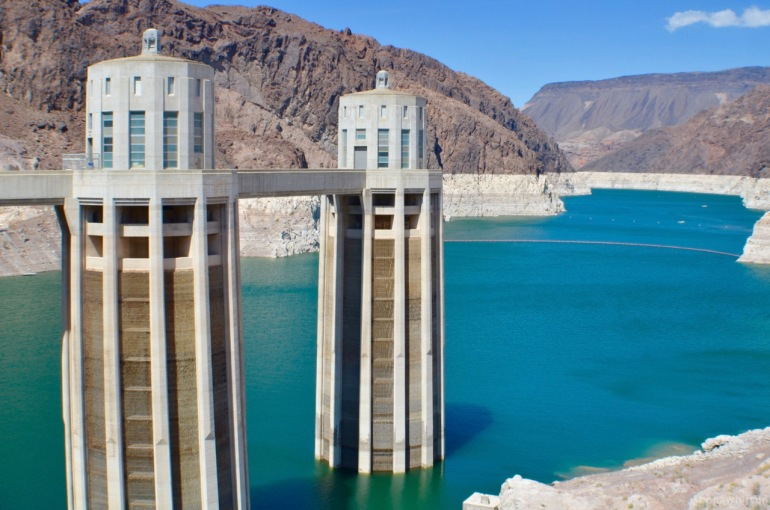 Art Deco & Mother Nature deliciousnes. Hoover Dam.