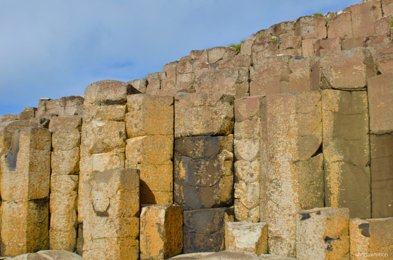Angular. Giant's Causeway, Northern Ireland.