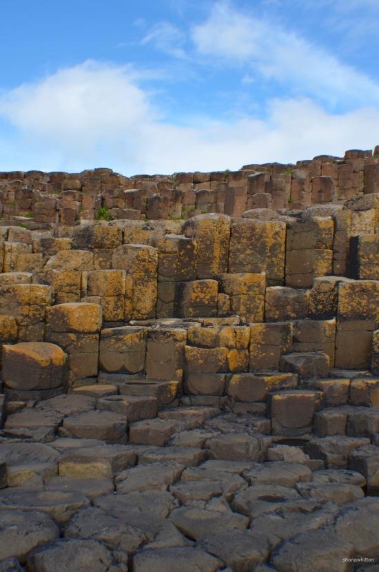 Rockin'. Giant's Causeway, Northern Ireland.