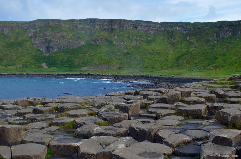Basalt blue. Giant's Causeway, Northern Ireland.